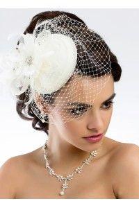 voilettes-coiffes-peignes-bibi-chapeaux-retro-vintage-mariage-mariee-coiffure-chignon-cheveux-ceremonie - Accessoires du Mariage