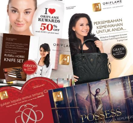 Jaringan - Halaman Saya | Oriflame Cosmetics
