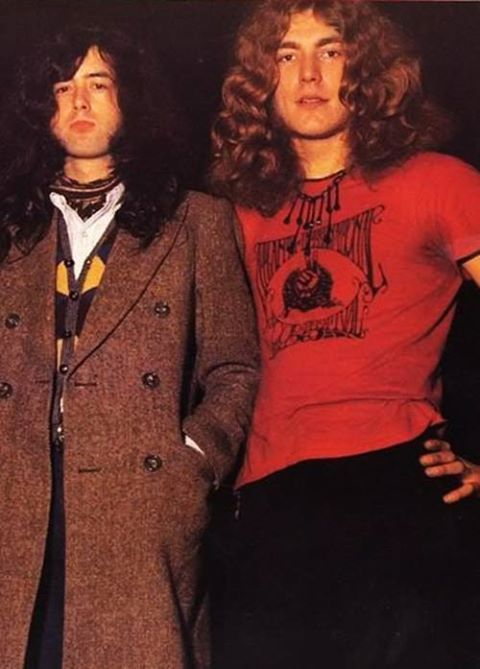 Jimmy Page & Robert Plant of Led Zeppelin