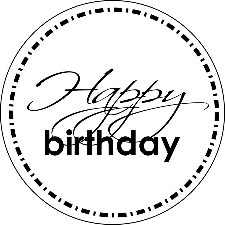 1000 Ideas About Happy Birthday Font On Pinterest