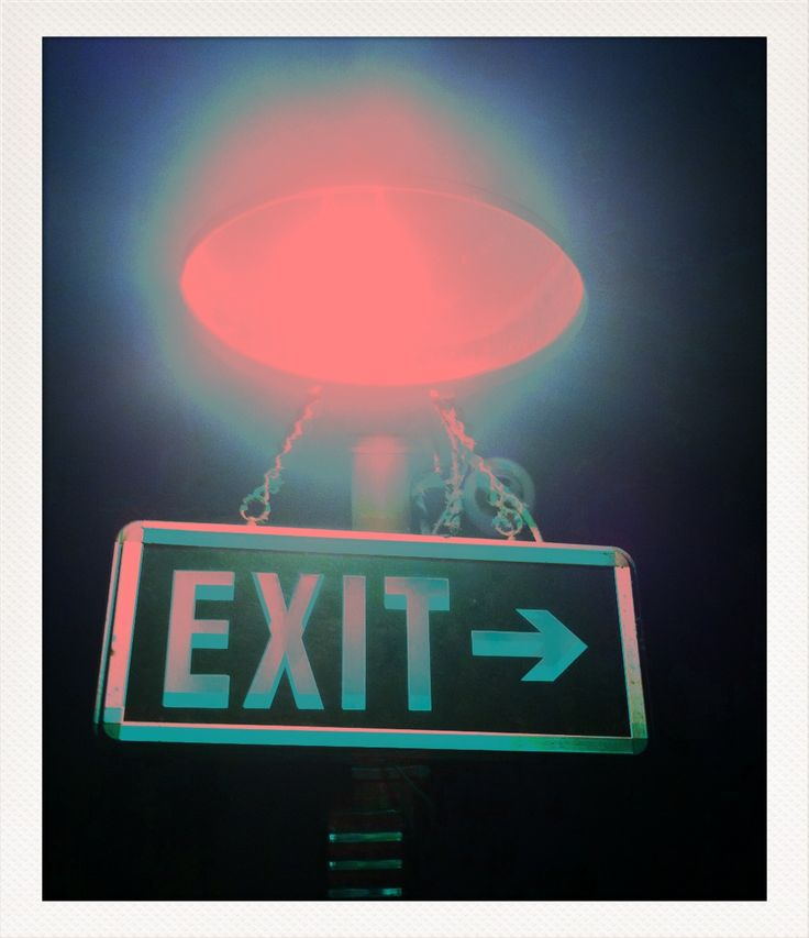exit By Flora Carreno