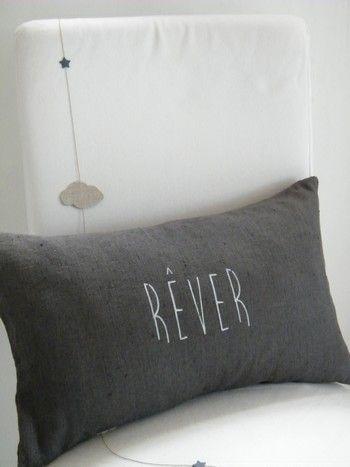 Image of Coussin lin lavé REVER (CSS1REVERGR)