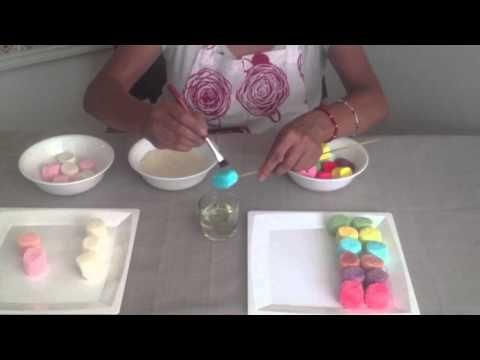 Técnica - Cómo azucarar bombones