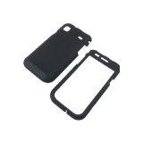 Samsung T959 Vibrant Galaxy S Rubberized Shield Hard Case - Black (Wireless Phone Accessory)By Generic