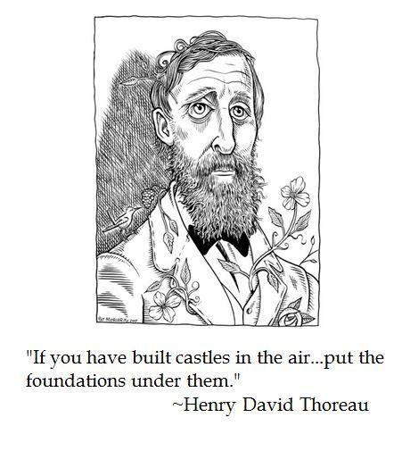 An overview of the works by henry david thoreau
