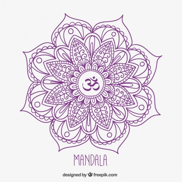 mandala dessinés à la main                                                                                                                                                                                 Plus