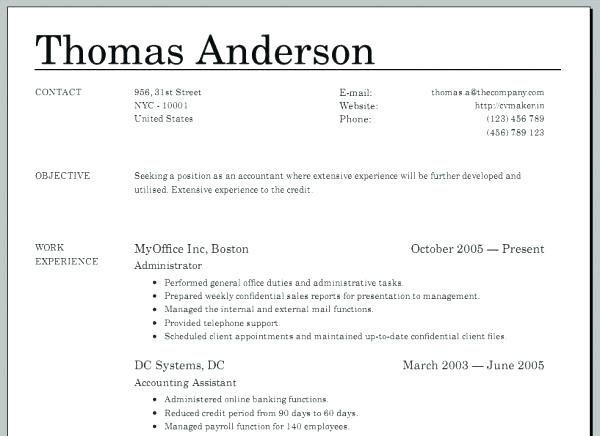 Create Resume Online Free Template Best Resume Examples
