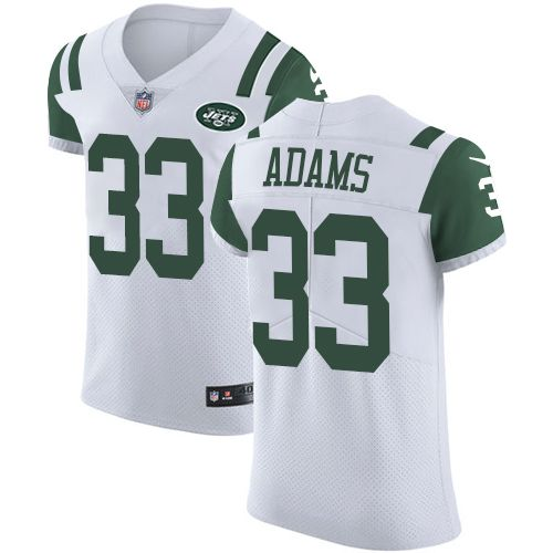 jamal adams jersey white