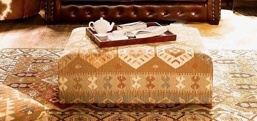Kilim Small Coffee Table mediterranean coffee tables