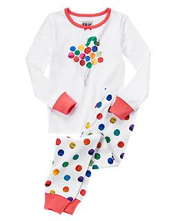 The Very Hungry Caterpillar™ Balloons Two-Piece Gymmies® р.18-24