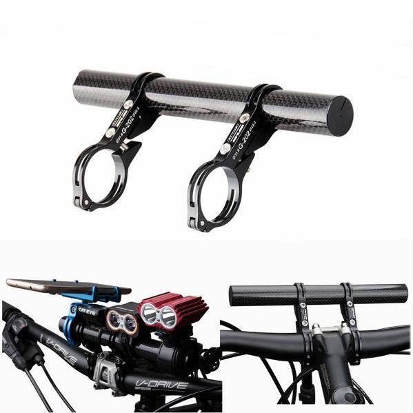 Bike Bicycle Handlebar Extension Mount Headlight Lamp Computer Bracket Holder B