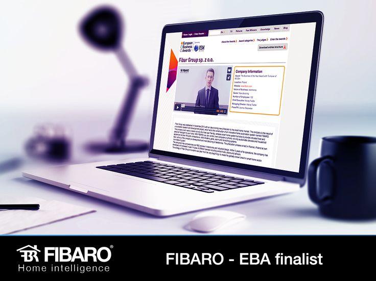 FIBARO - the finalist at European Business Awards