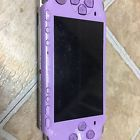 Sony PlayStation Portable 3001 PSP lilac colored works! No battery or charger