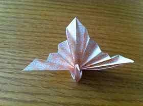 【折り紙】祝い鶴の折り方