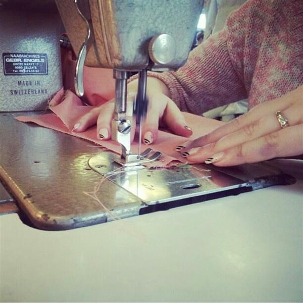 Making my skirt! ♡ by  Lincy