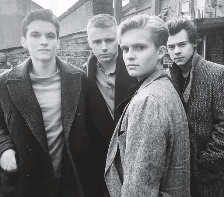 "thedailystyles: ""Harry, Fionn Whitehead, Jack Lowden, and Tom Glynn-Carney photographed by Francesco Zizola """