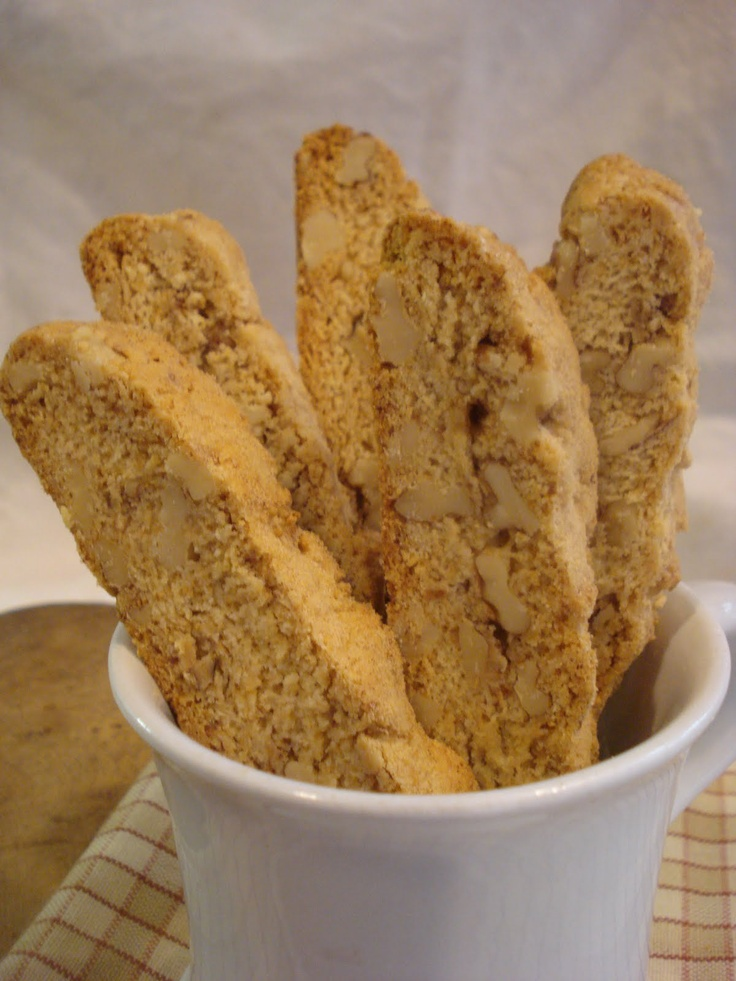 maple walnut biscotti | me want COOKIES!!! | Pinterest ...