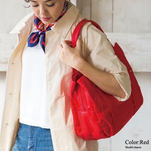 トートバッグ/軽量/A4/巾着付き/Mサイズ/旅行バッグ/ジムバッグ/ナイロントート/ママバッグ/マザーズバッグ
