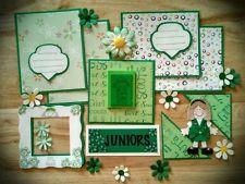 Paper Piecing Girl Scouts JUNIORS Mat set