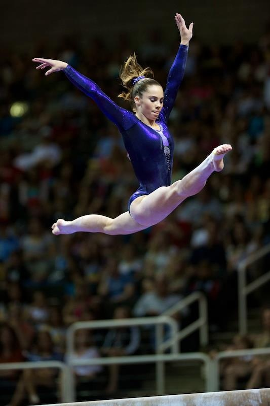 I spend a fortune in gymnastics so that Brynn can be just like her idol, McKayla Maroney.