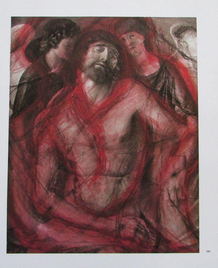 Arnulf Rainer ENGELSPIETA Übermalung Kunstdruck Bibel art print | eBay