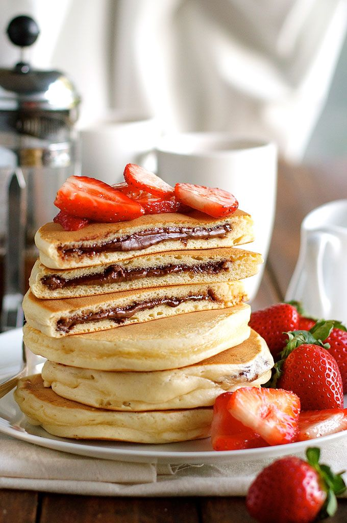 This is the most perfect pancake recipe I've ever tried!! With any other recipe my pancakes would turn out just wrong, but with this one ...