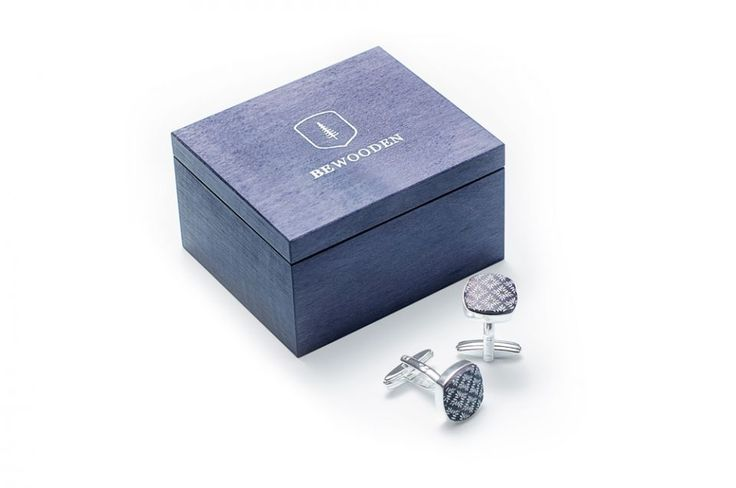 Stella cufflinks are an essential attribute to the gentleman's accessory collection. Crafted with passion from dark blue stained maple and finished with silver, this pair of wooden cufflinks adds class to your suit. Crafted with passion from natural maple and finished with silver, this pair of wooden cufflinks adds masculinity to your outfit. Their rounded shape and the bullet back closure give them the sense of perfection. This subtle add-on to your dress shirt is useful and light – at only…