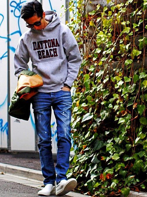 BEAMS MEN | SHIMIZU/BEAMSさんのダウンベスト「BEAMS 【予約】ROCKY MOUNTAIN FEATHERBED×PORTER×BEAMS / 別注 ダウンベスト」を使ったコーディネート