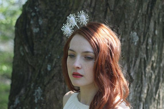 Triple star headpiece - the stars appear to be floating in the air, slightly moving as you walk. Stunning, eye-catching headpiece for - not only -