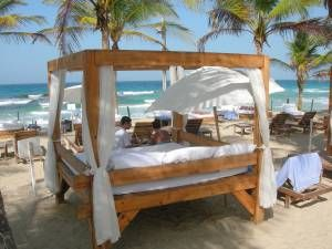 beds on the beach - Google Search