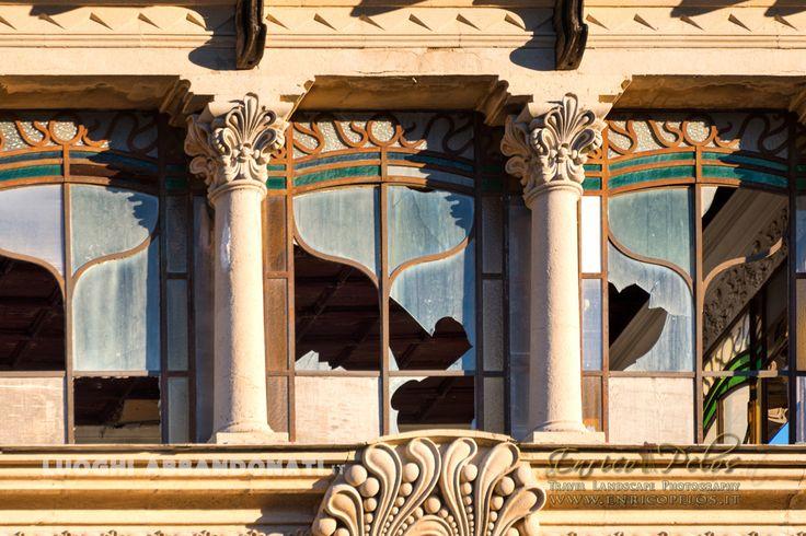 Villa Zanelli - Savona - finestre liberty