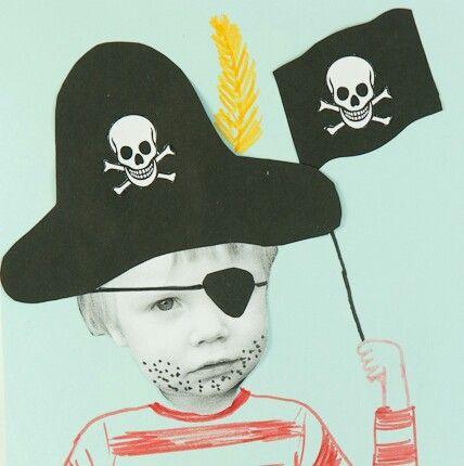 Een piraat maken van je eigen foto