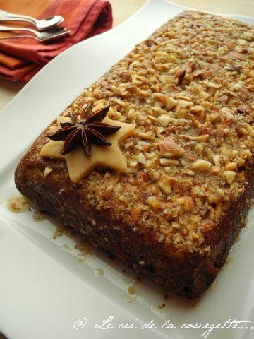 Gâteau à la pâte d'amande et au sirop d'orange et de gingembre SANS GLUTEN