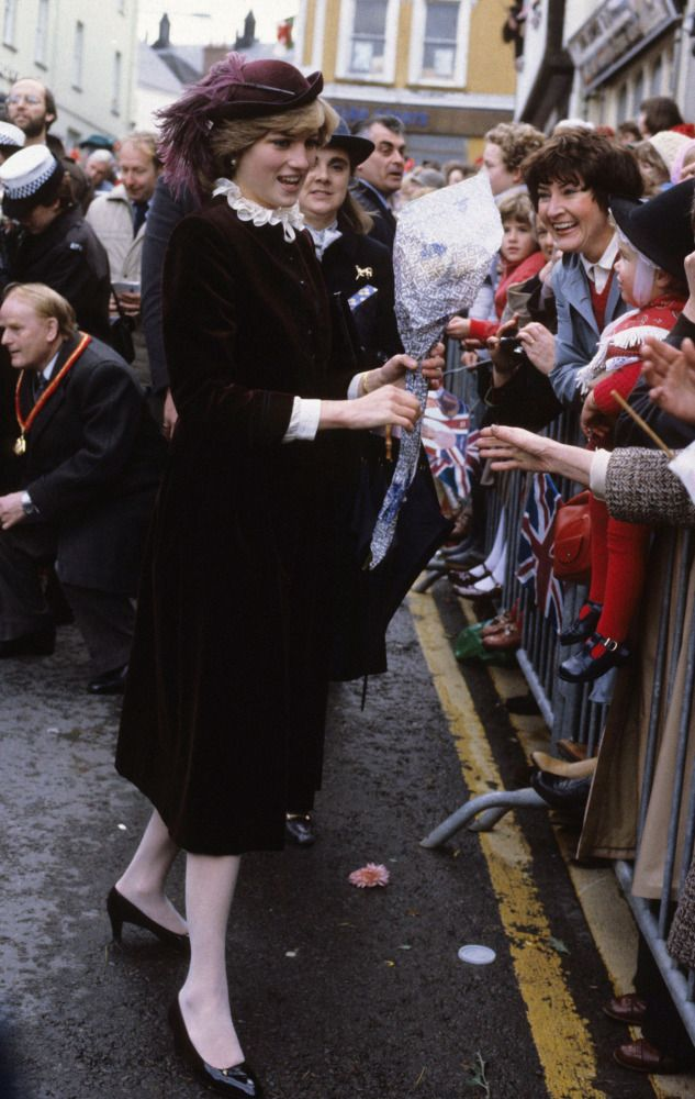 """In a letter to Margaret Hodge an older teacher who worked alongside her at Young England Kindergarten in London's Pimlico district, Diana revealed her nerves ahead of her first official tour of Wales with Charles.  """"I expect the sooner I can get used to it the better,"""" she said."""