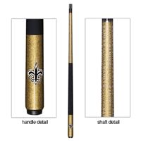 New Orleans Saints Pool Cue - click image to enlarge