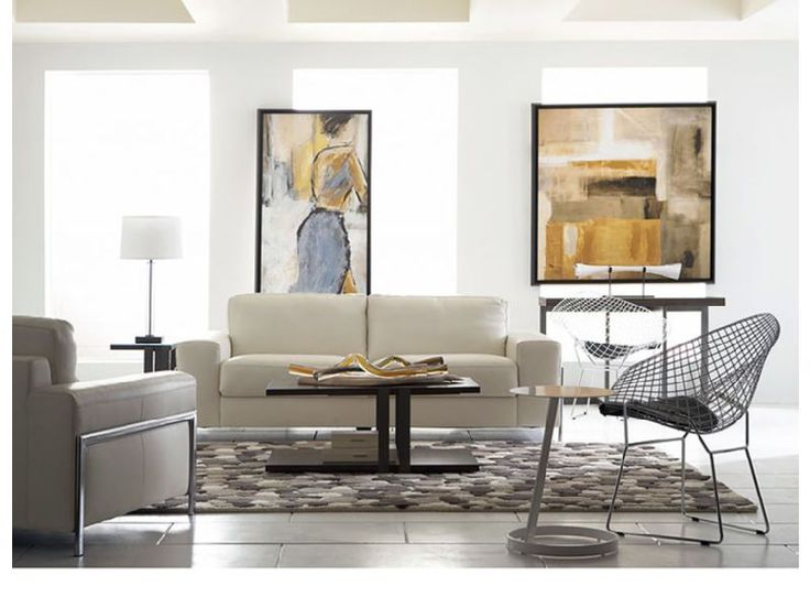 Exceptional Rent The Genuine White Leather Fregene With Conal Living Room Set. CORT  Contemporary Whole Room Furniture Rental Sets Are A Modern Decoratoru0027s  Dream. Good Ideas