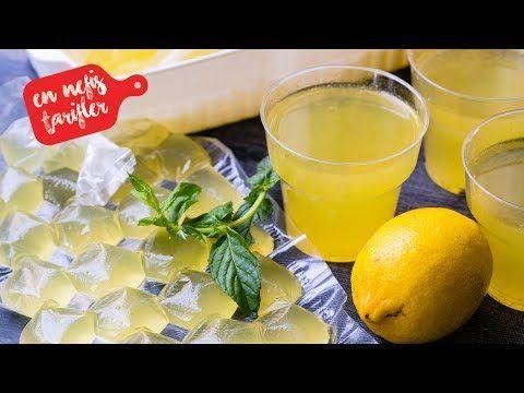 Ev Yapımı Konsantre Limonata Nasıl Yapılır? Kolay ve Nefis Limonata Tarifi (İçecek Tarifleri) - YouTube
