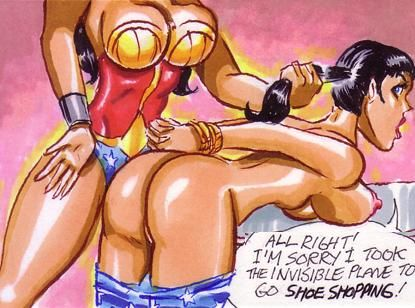 Hot girl spanked comic those