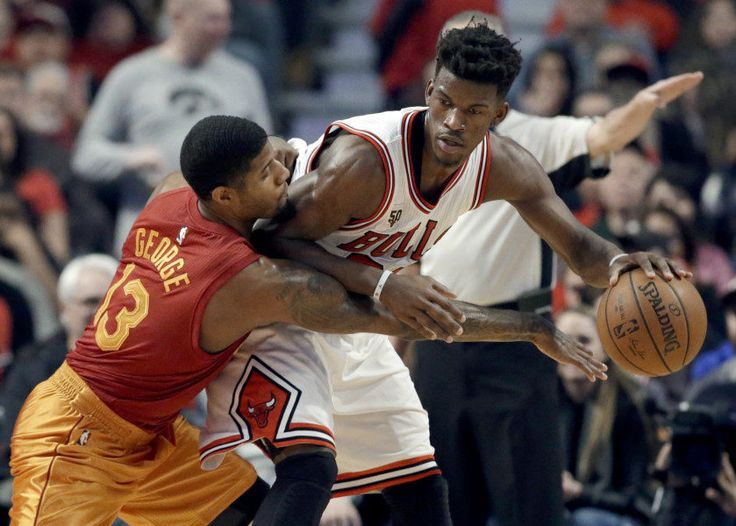 "NBA Today: Pacers' Paul George takes on Bulls' Jimmy Butler = NBA Today complements Keith Smith's ""NBA Yesterday"" feature, ""The Skip Pass."" While Keith's feature will emphasize what we ""saw,"" this will focus on what to look for in the night's upcoming games. Note: No Skip Pass today due to the holiday….."
