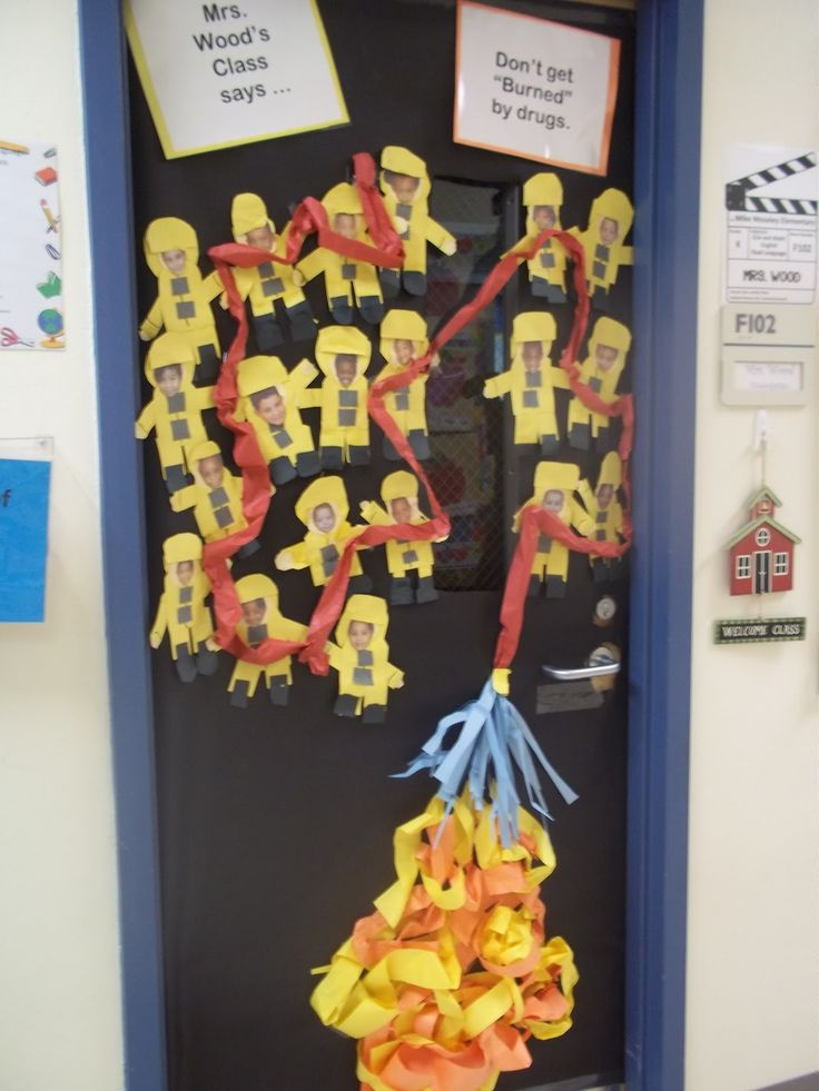 70 best red ribbon images on pinterest red ribbon week for Idea fire door
