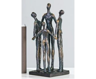 "Dekorace ""Group"", 12 x 12 x 30 cm"