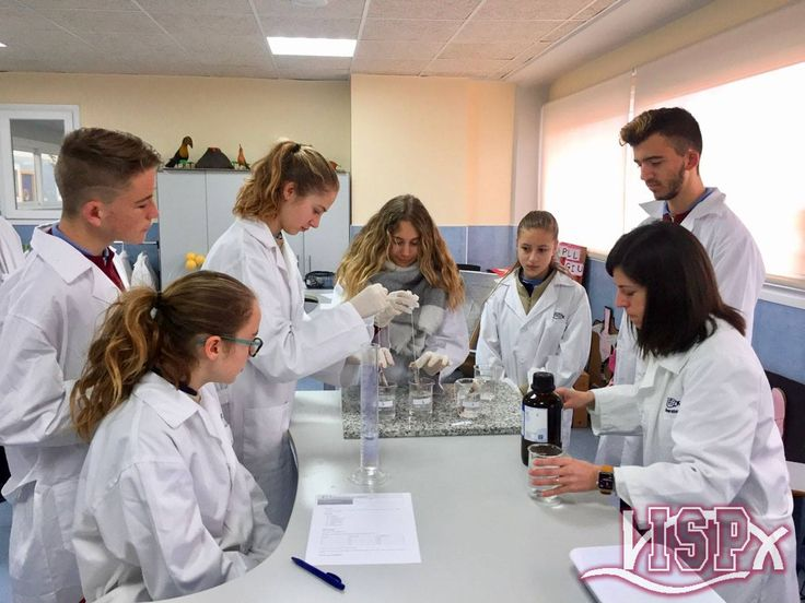 3º #SecundariaISP: práctica en el #LaboratorioISP para estudiar el proceso de descalcificación de los huesos.En las clases de Biology han trabajado el sistema locomotor y han determinado la relación entre la rigidez de los huesos y la cantidad de sales que estos contienen.