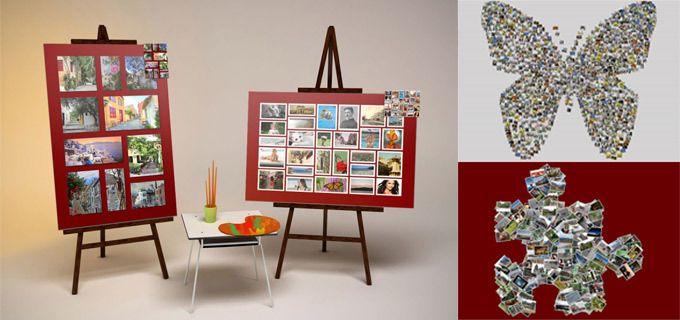 Πανέμορφο Κολάζ με τις αγαπημένες σας φωτογραφίες σε κλασικό ή σχηματοποιημένο σχήμα, σε καμβά (από 27€), στη διάσταση που επιθυμείτε, για να κάνετε ένα διαχρονικό δώρο σε εσάς ή στους φίλους σας, με δυνατότητα αποστολής στο χώρο σας, από την pinakesondemand.gr!