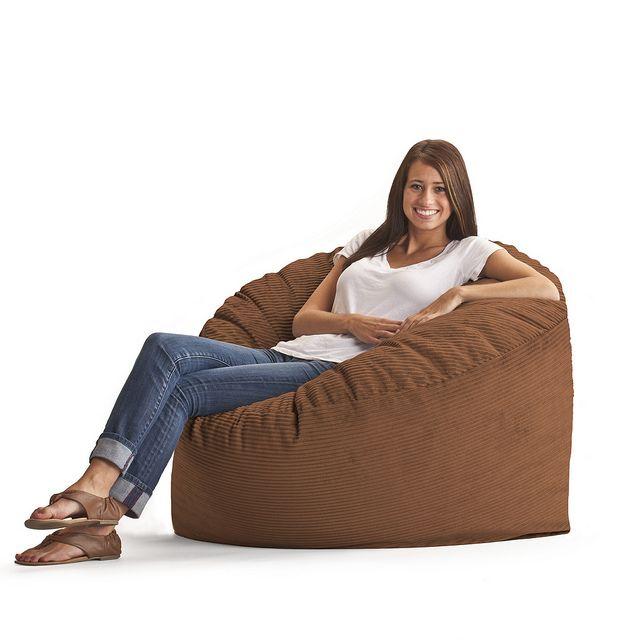 Wide Wale Corduroy Bean Bag Lounger   The Original FUF Chair 3 Ft.  Wide Wale Corduroy Bean Bag Lounger Is Stuffed Full Of Fuf Memory Foam That  Envelops You ...