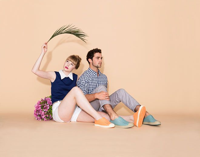 Native Shoes SS14 / Miss Moss