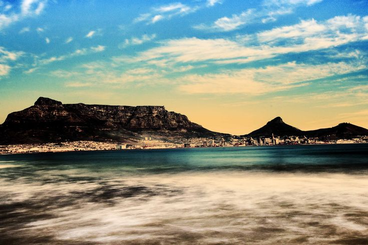 Table Mountain and CapeTown