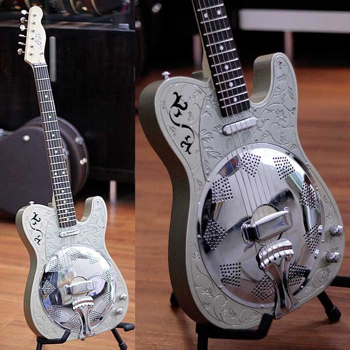 Telecaster Style Resonator By IVee Ivan Mulia Of Indonesia