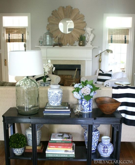 Sofa Table Ideas: 612 Best Vignettes / Styling Images On Pinterest