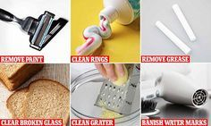 From using baking soda to clean a dirty sofa to making your engagement ring sparkle with toothpaste, experts have shared their best cleaning hacks. Take note!