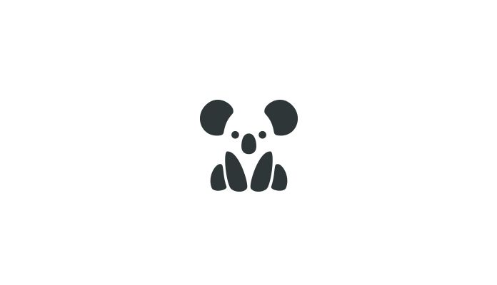 Fun Negative Space Animal Logos by Bodea Daniel - Adventures of Yoo
